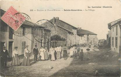 "/ CPA FRANCE 54 ""Sainte Geneviève, le village"""