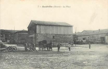 """/ CPA FRANCE 55 """"Auzéville, la place"""""""