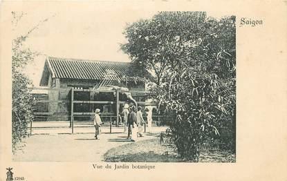 "CPA INDOCHINE "" Saigon, le jardin botanique"""