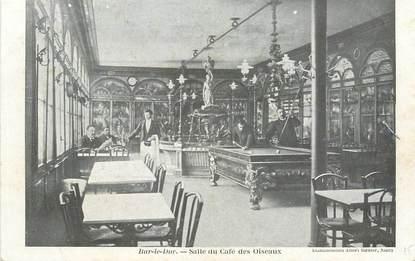 """/ CPA FRANCE 55 """"Bar Le Duc, salle du café des oiseaux"""" / BILLARD"""