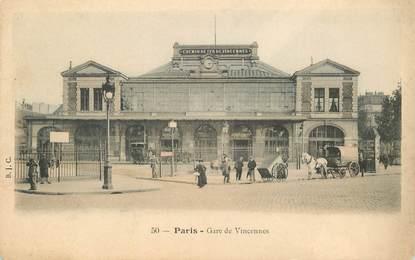 """CPA FRANCE 75012 """"Paris, Gare de Vincennes"""""""