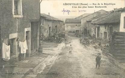 """/ CPA FRANCE 55 """"Lérouville, rue de la République"""""""