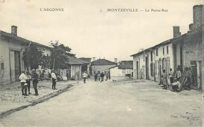 """/ CPA FRANCE 55 """"Montzeville, la petite rue"""""""