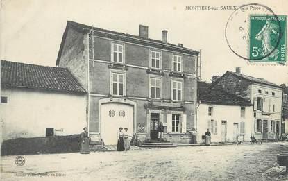 """/ CPA FRANCE 55 """"Montiers sur Saulx, la poste"""""""