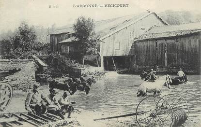 """/ CPA FRANCE 55 """"Récicourt"""""""