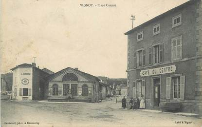 """/ CPA FRANCE 55 """"Vignot, place Carnot"""""""