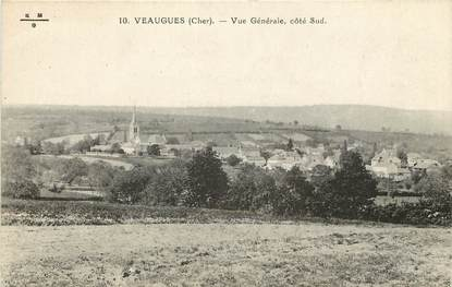 """CPA FRANCE 18 """"Veaugues, vue générale côté sud"""""""