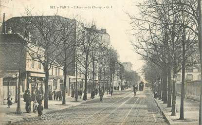 "CPA FRANCE 75013 ""Paris, avenue de Choisy"""