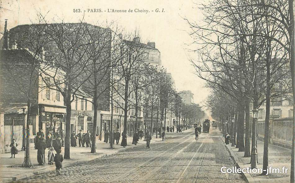 Cpa france 75013 paris avenue de choisy 75 paris 13 eme arro - 115 avenue de france 75013 paris ...