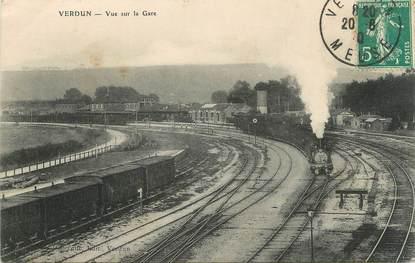 """/ CPA FRANCE 55 """"Verdun , vue sur la gare"""""""