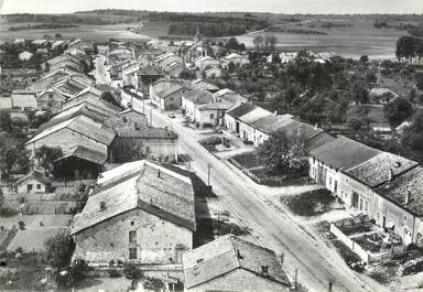"/ CPSM FRANCE 55 ""Houdelaincourt, la grande rue"""