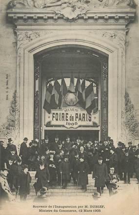 """CPA FRANCE 75014""""Paris, souvenir de l'Inauguration par M. DUBIEF, 1905"""""""