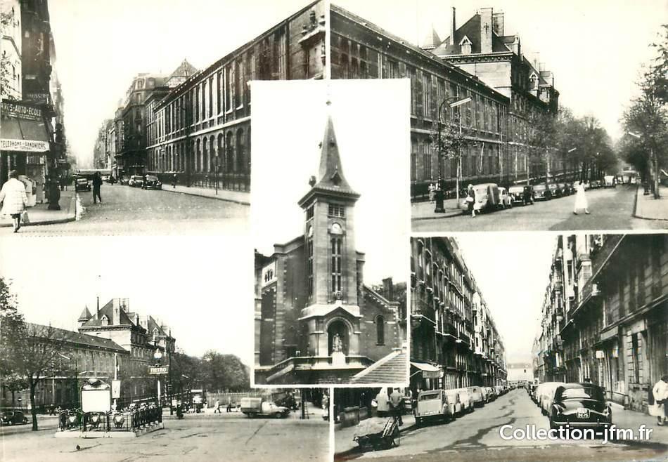 Cpsm france 75015 paris rue de vaugirard 75 paris for Foyer international des etudiantes