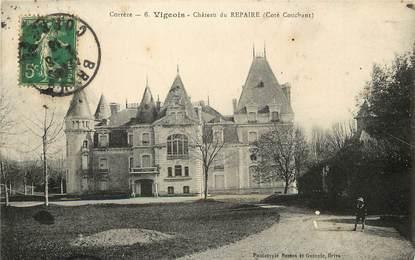 """CPA FRANCE 19 """"Vigeois, Château du Repaire"""""""