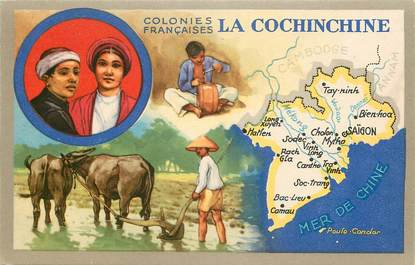 CPA INDOCHINE / la Cochinchine