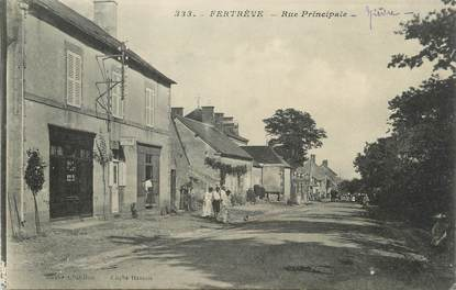 """/ CPA FRANCE 58 """"Fertève, rue principale"""""""