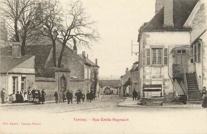 "/ CPA FRANCE 58 ""Tannay, rue Emile Regnault"""