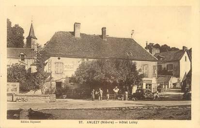 """/ CPA FRANCE 58 """"Anlezy, hôtel Loisy"""""""