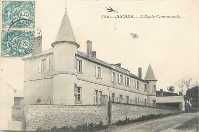 "/ CPA FRANCE 58 ""Biches, l'école communale"""