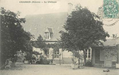 "/ CPA FRANCE 58 ""Charrin, le château"""