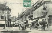 "58 Nievre / CPA FRANCE 58 ""Cosne, rue du commerce"""