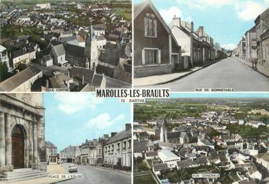 """/ CPSM FRANCE 72 """"Marolles les Braults """""""