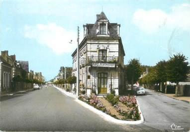 """/ CPSM FRANCE 72 """"Mayet, rue  de la gare"""""""