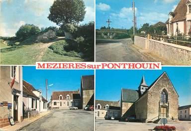 """/ CPSM FRANCE 72 """"Mezières sur Ponthouin"""""""