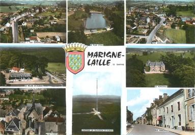 """/ CPSM FRANCE 72 """"Marigne Laillé"""""""