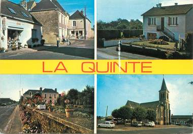"/ CPSM FRANCE 72 ""La Quinte, vue  d'ensemble"""