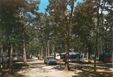 """/ CPSM FRANCE 72 """"Sillé Le Guillaume, camp de la forêt"""" / DS / CAMPING"""
