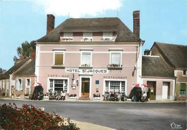 """/ CPSM FRANCE 72 """"Thorigné sur Dué, hôtel Saint Jacques"""""""