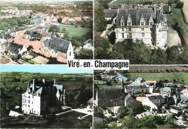 """/ CPSM FRANCE 72 """"Viré en Champagne"""""""