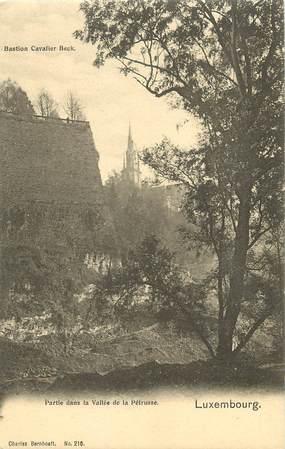CPA LUXEMBOURG / Partie dans la vallée de la Pétrusse