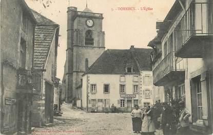 "/ CPA FRANCE 58 ""Dornecy, l'église"""
