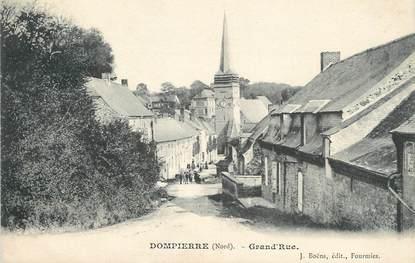"/ CPA FRANCE 59 ""Dompierre, Grand'rue"""