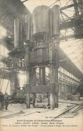 """/ CPA FRANCE 59 """"Denain, Société Française de construction mécanique"""""""