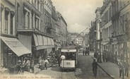 "59 Nord / CPA FRANCE 59 ""Dunkerque, la rue Alexandre III"" / TRAMWAY"