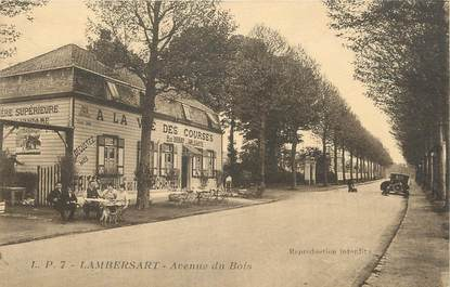 """/ CPA FRANCE 59 """"Lambersat, av du bois"""""""