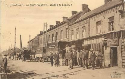 """/ CPA FRANCE 59 """"Jeumont, le poste Frontière"""" / DOUANE"""