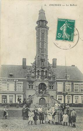"""/ CPA FRANCE 59 """"Orchies, le beffroi"""""""