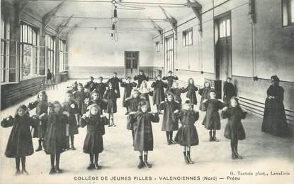 """/ CPA FRANCE 59 """"Valenciennes, collège de jeunes filles"""""""