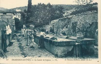"""CPA FRANCE 83 """"Draguignan,  le lavoir de Capesse"""""""