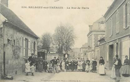 "/ CPA FRANCE 60 ""Balagny sur Thérain, la rue de Paris"""
