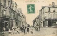 """60 Oise / CPA FRANCE 60 """"Clérmont, rue de Paris et de Mouy"""""""