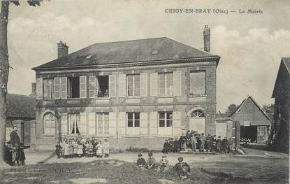 Cpa france 60 cuigy en bray la mairie 60 oise for Liste communes oise