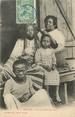 Afrique CPA MADAGASCAR / Nossi Bé, salon de coiffure sakalave