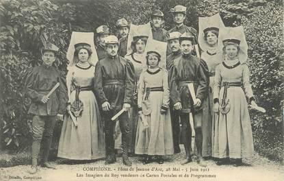 """/ CPA FRANCE 60 """"Compiègne, fête de Jeanne d'Arc 1911"""""""