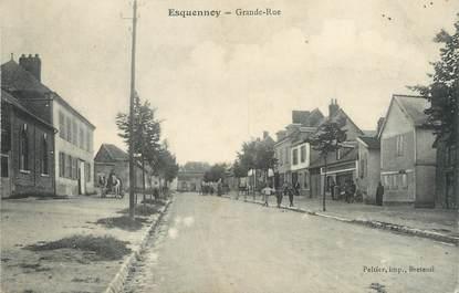"""/ CPA FRANCE 60 """"Esquennoy, grande rue"""""""