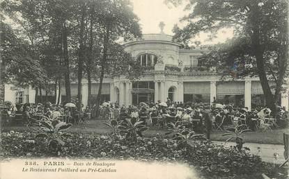 """CPA FRANCE 75016 """"Paris, Bois de Boulogne, le restaurant Paillard au Pré Catelan"""""""